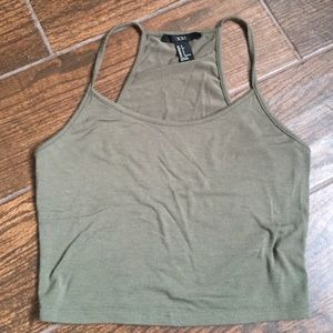 Forever 21 Olive Green Tank Top